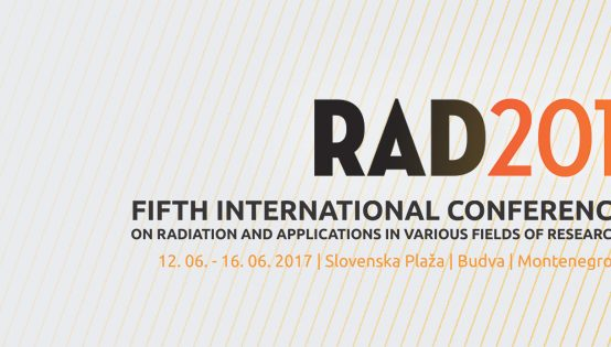 Fifth International Conference on Radiation and Applications